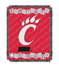 University of Cincinnati Baby College Throw