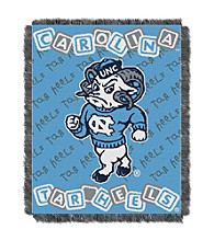 University of North Carolina Baby College Throw
