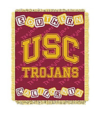University of Southern California Baby College Throw
