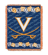University of Virginia Baby College Throw