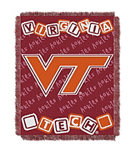 Virginia Tech Baby College Throw