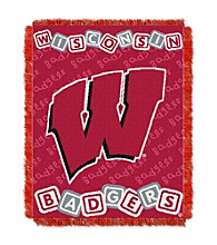 University of Wisconsin Baby College Throw