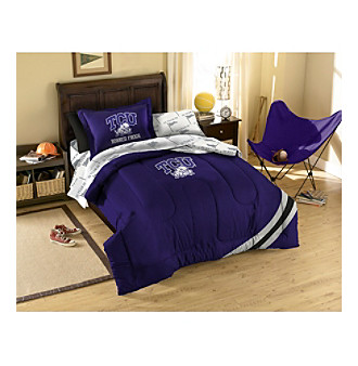 Texas Christian University Comforter Set