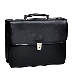 McKlein Ashburn Black Leather Laptop Case™