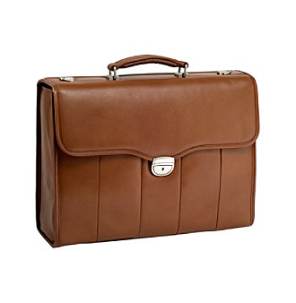McKlein North Park Leather Executive Briefcase