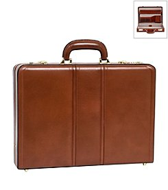 McKlein Daley Leather Attache Case