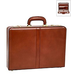 McKlein Reagan Leather Attache Case