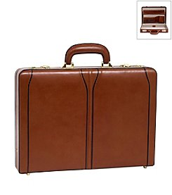 McKlein Lawson Leather Attache Case