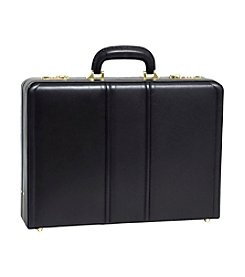 McKlein Coughlin Leather Expandable Attache Case