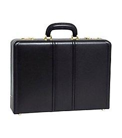 McKlein Coughlin Leather Expandable Attache Case