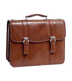 McKlein Flournoy Leather Double Compartment Laptop Case