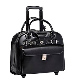 McKlein Edgebrook Ladies' Wheeled Laptop Case