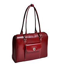 McKlein Marycrest Red Ladies' Laptop Tote