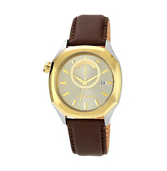 Vince Camuto™ Mens Leather Watch