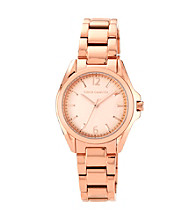 Vince Camuto™ Women's Rose Goldtone Link Bracelet Watch
