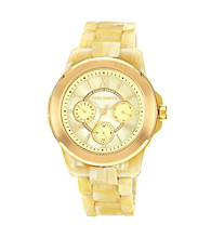 Vince Camuto™ Women's Horn Multi-Function Bracelet Watch