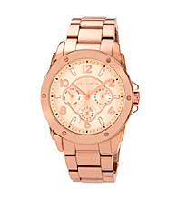 Vince Camuto™ Women's Rose Goldtone Multi-Function Sport Watch