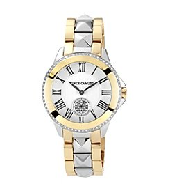 Vince Camuto™ Women's Swarovski Crystal Accented Two-Tone Bracelet Watch