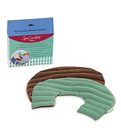 Spa Comforts by DreamTime® Sea Green Microwavable Aromatherapy Shoulder Wrap