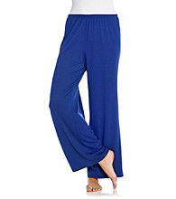 Oneworld® Knit Solid Color Pants - Navy