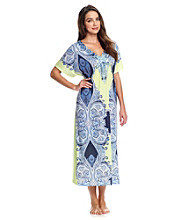 Oneworld® Knit Caftan - Foreign Suns