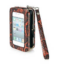 Relativity® Orange Python Hard Cell Case