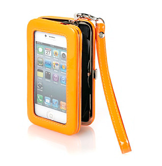 Relativity® Neon Orange Hard Cell Case
