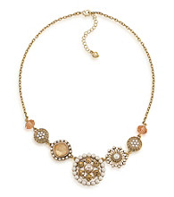 Carolee® Multi In Bloom Ornate Necklace