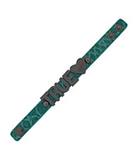 BCBGeneration™ Malachite Croco and Hematite True Love Bracelet
