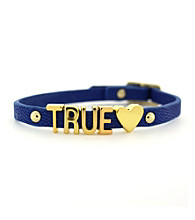 BCBGeneration™ Blue and Goldtone True Love Mini Bracelet