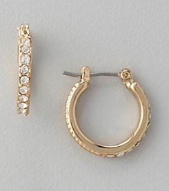 Anne Klein® Goldtone Small Hoop Earrings