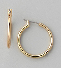 Anne Klein® Goldtone Medium Hoop Earrings