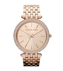 Michael Kors® Rose Goldtone Darci Watch