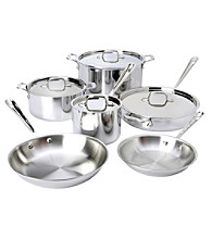 All-Clad® 10-pc. Stainless Steel Cookware Set