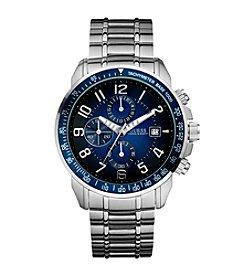 GUESS Men's Silver Sport Ready Chronograph Watch