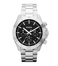 Fossil® Retro Traveler Stainless Steel Watch