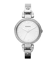 Fossil® Georgia Stainless Steel Watch
