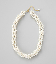 Genuine Freshwater Pearl Braided Necklace