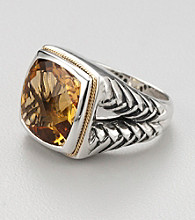 Effy Collection® Sterling Silver Citrine Ring