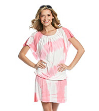 Raviya Short Sleeve Tie-Dye Tunic