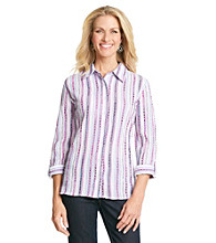 Breckenridge® Puffed Striped Shirt