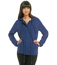 Fever™ Cinched Hooded Jacket