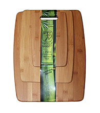 Totally Bamboo® Set of 3 Bamboo Cutting Boards
