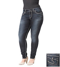 Silver Jeans Co. Plus Size Suki Skinny Denim Jean