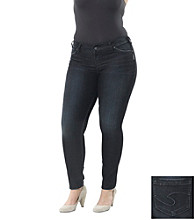 Silver Jeans Co. Plus Size Suki Surplus Denim Jean