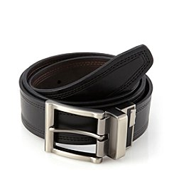Levi's® Men's Black/Brown Leather Belt
