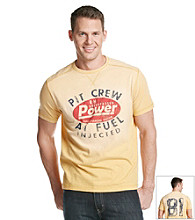 Ruff Hewn Men's Tawny Gold Athletic Fashion Tee