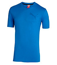 PUMA® Men's Nautical Blue Basic V Neck