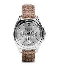 COACH SIGNATURE BOYFRIEND STRAP WATCH