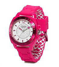COACH PUNCH BOYFRIEND SILICON RUBBER STRAP WATCH